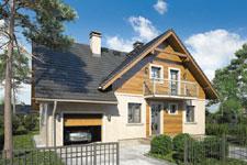 Projekt domu E-GL 1035 Mały Michał II