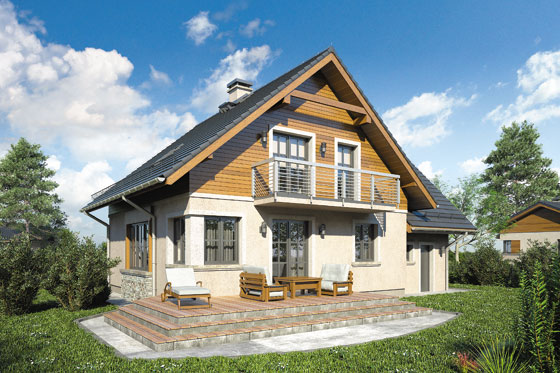 Projekt domu S-GL 1035 Mały Michał II