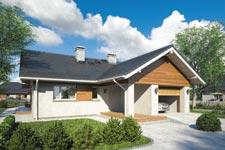 Projekt domu E-GL 1058 Amber VII