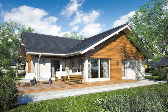 Projekt domu S-GL 1058 Amber VII