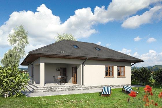 Projekt domu S-GL 1063 Ważka II