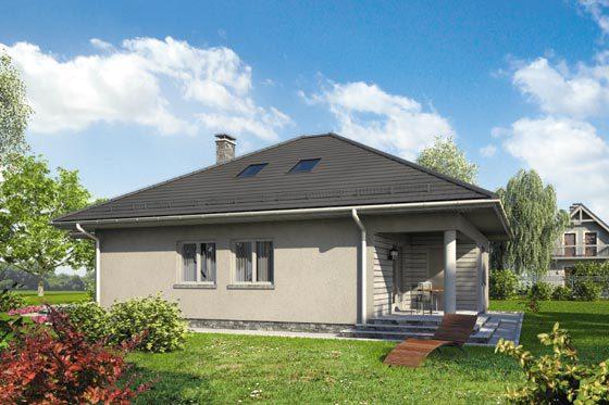 Projekt domu S-GL 1064 Cyraneczka
