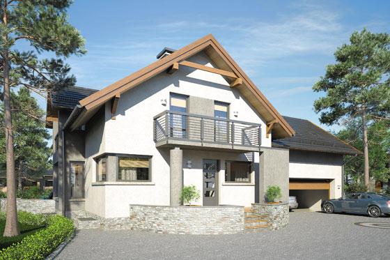 Projekt domu S-GL 1067 Agawa V