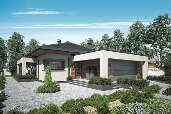 Projekt domu S-GL 1071 Sardynia Plus
