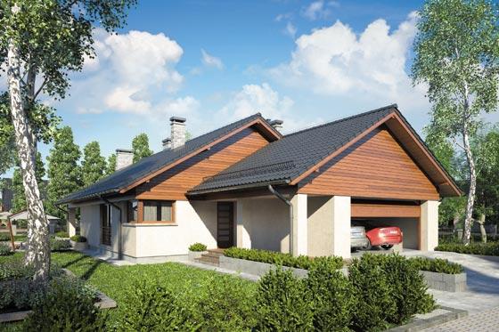 Projekt domu S-GL 1077 Ibis