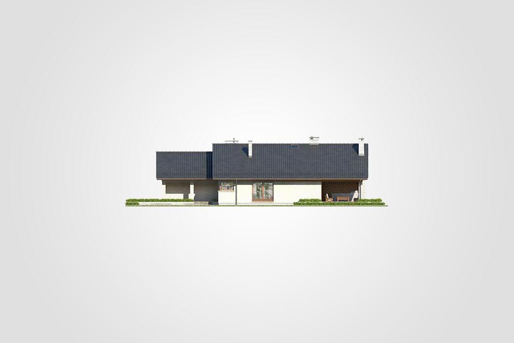 Elewacja domu S-GL 1077 Ibis