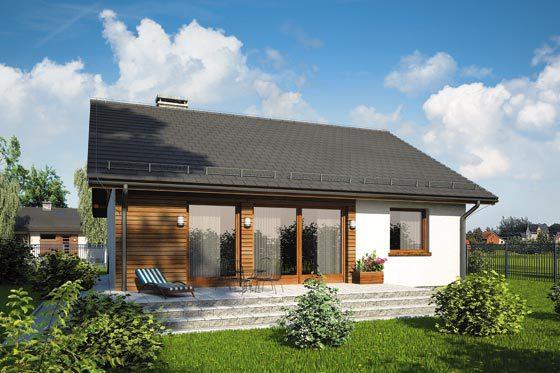 Projekt domu S-GL 1080 Remik Max