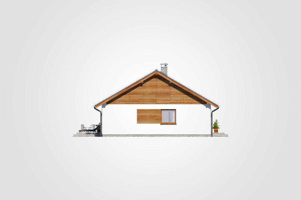 Elewacja domu S-GL 1080 Remik Max
