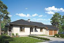 Projekt domu E-GL 110 Remek