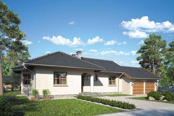 Projekt domu S-GL 110 Remek