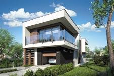 Projekt domu E-GL 1104 Modern House