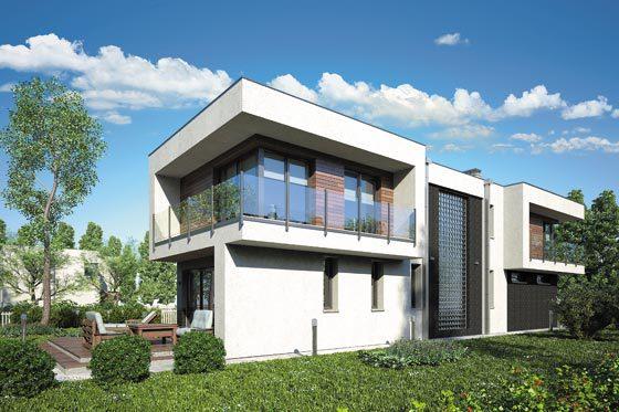 Projekt domu S-GL 1104 Modern House