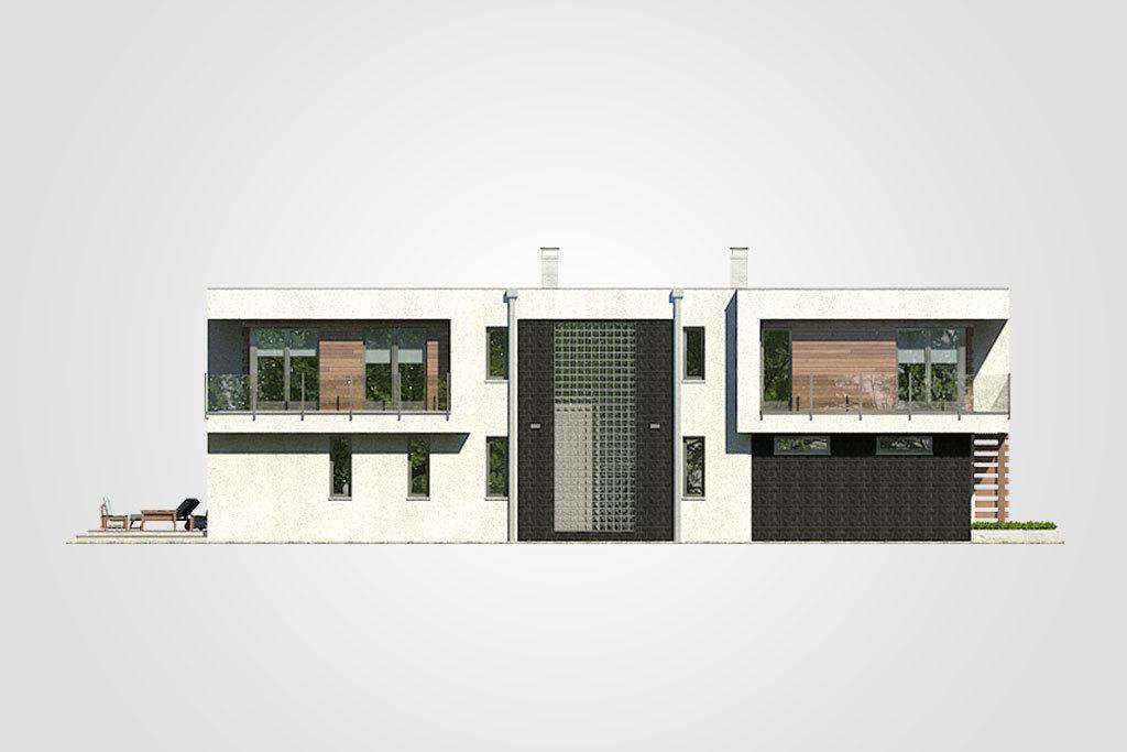 Elewacja domu S-GL 1104 Modern House