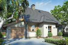 Projekt domu E-GL 111 Kumoszka