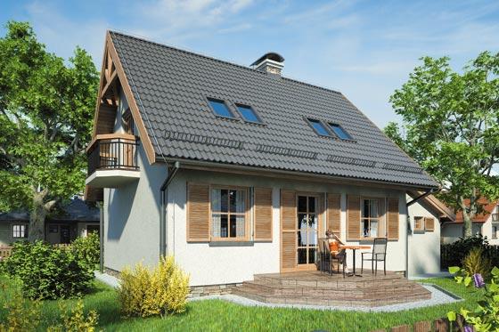 Projekt domu S-GL 111 Kumoszka