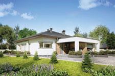 Projekt domu E-GL 1121 Sardynia IV