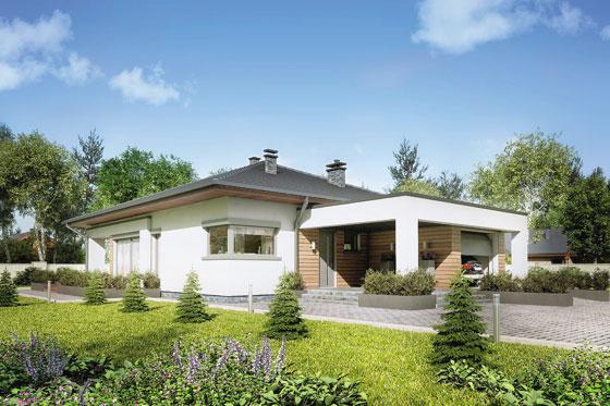 Projekt domu S-GL 1121 Sardynia IV