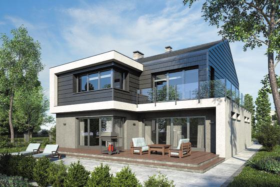 Projekt domu S-GL 1126 New House II