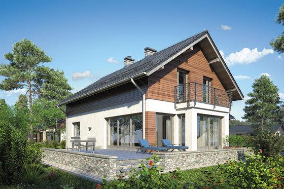 Projekt domu S-GL 1145 Merlot