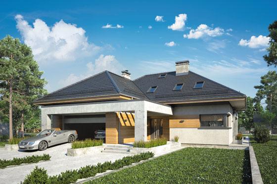 Projekt domu S-GL 1147 Cabernet