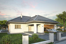 Projekt domu E-GL 1148 Winner