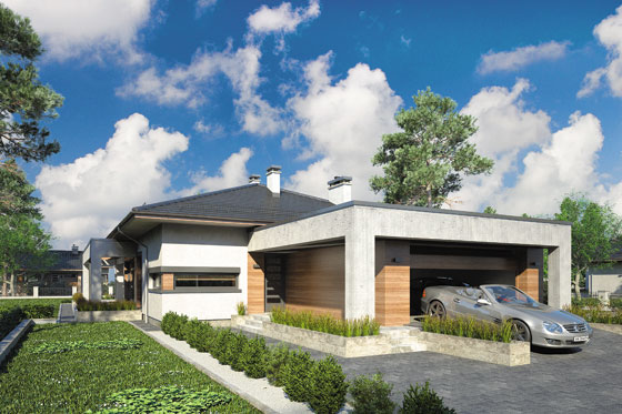 Projekt domu S-GL 1150 Sardynia VII