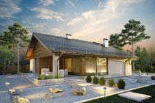 Projekt domu E-GL 1152 Kos