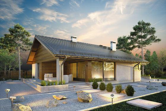 Projekt domu S-GL 1152 Kos