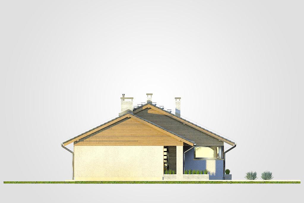 Elewacja domu S-GL 1152 Kos
