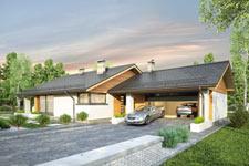 Projekt domu E-GL 1155 Kos II