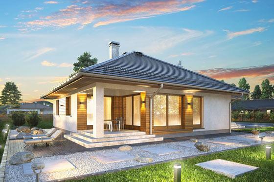Projekt domu S-GL 1167 Bursztyn Plus