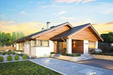 Projekt domu E-GL 1171 Pliszka
