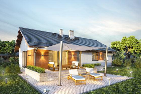 Projekt domu S-GL 1172 Aurora Maxi