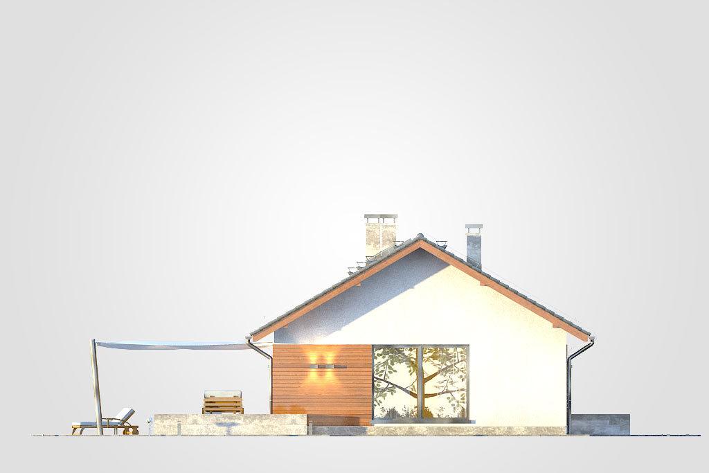 Elewacja domu S-GL 1172 Aurora Maxi