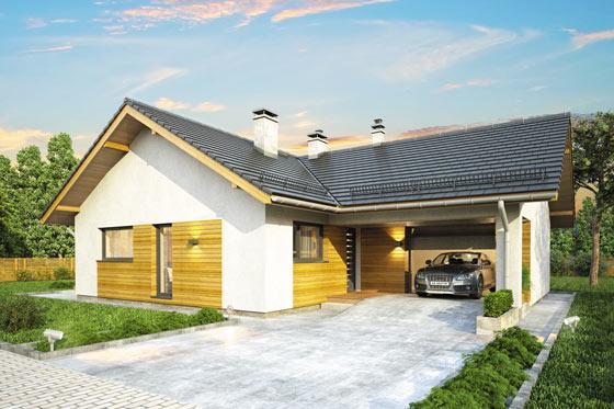 Projekt domu S-GL 1176 Terra