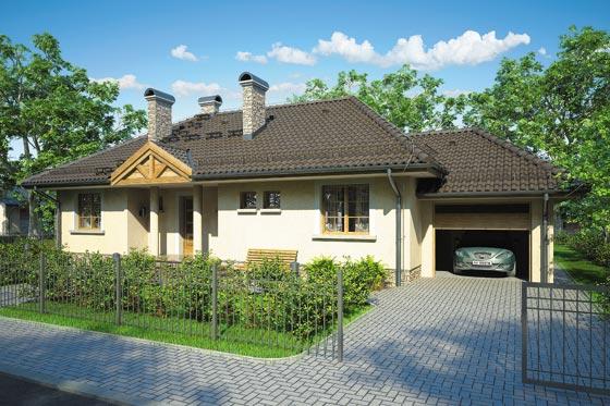 Projekt domu S-GL 118 Arka