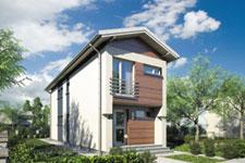 Projekt domu E-GL 122 Busik