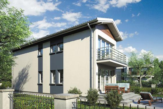 Projekt domu S-GL 122 Busik