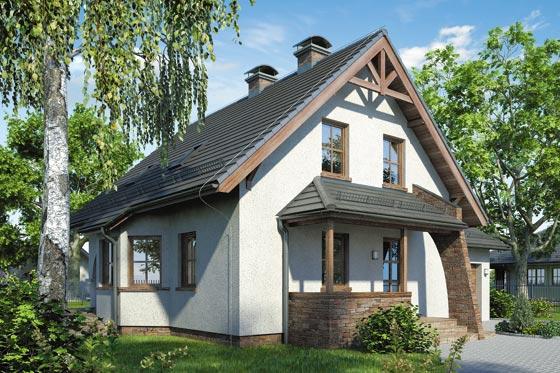 Projekt domu S-GL 125 Zefir