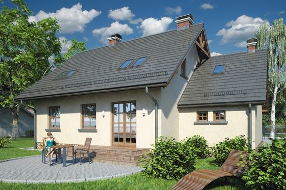 Projekt domu S-GL 126 Bryza