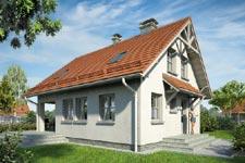 Projekt domu E-GL 129 Pierwiosnek