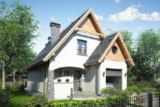 Projekt domu E-GL 163 Jawor