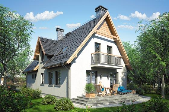 Projekt domu S-GL 163 Jawor