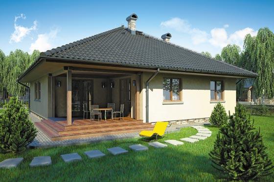 Projekt domu S-GL 174 Ostoja