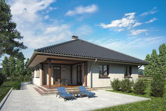Projekt domu S-GL 183 Floryda