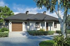 Projekt domu E-GL 184 Zorba