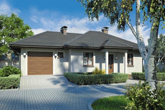 Projekt domu S-GL 184 Zorba