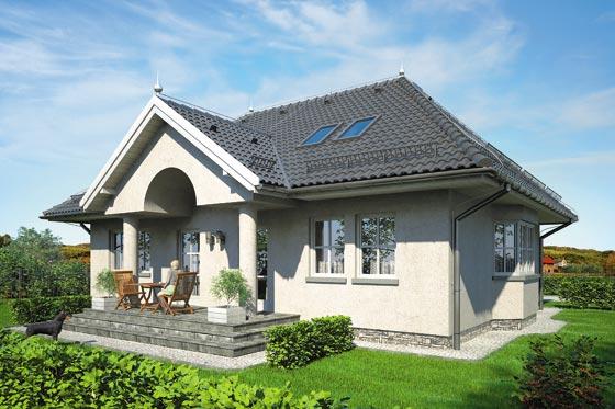 Projekt domu S-GL 207 Dwór Amora