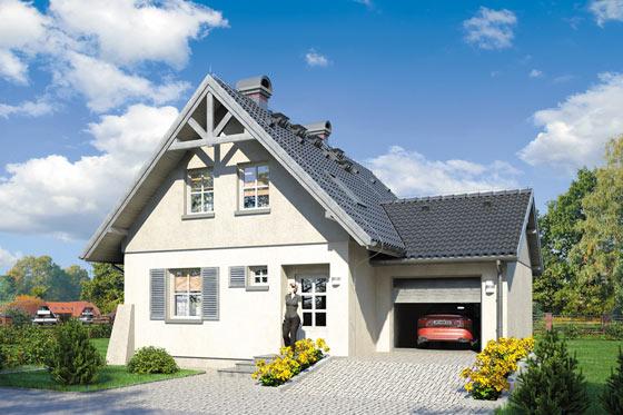 Projekt domu S-GL 209 Gucio