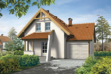 Projekt domu E-GL 217 Miłek
